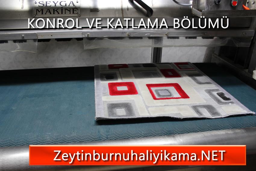 Zeytinburnu halı yıkama otomatik makinede yıkama kontrol bölümü