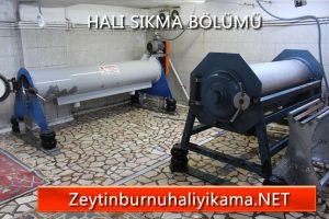 Zeytinburnu halı yıkama otomatik makinede yıkama halı sıkma bölümü