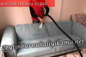Zeytinburnu koltuk yıkama vakumlama aşaması